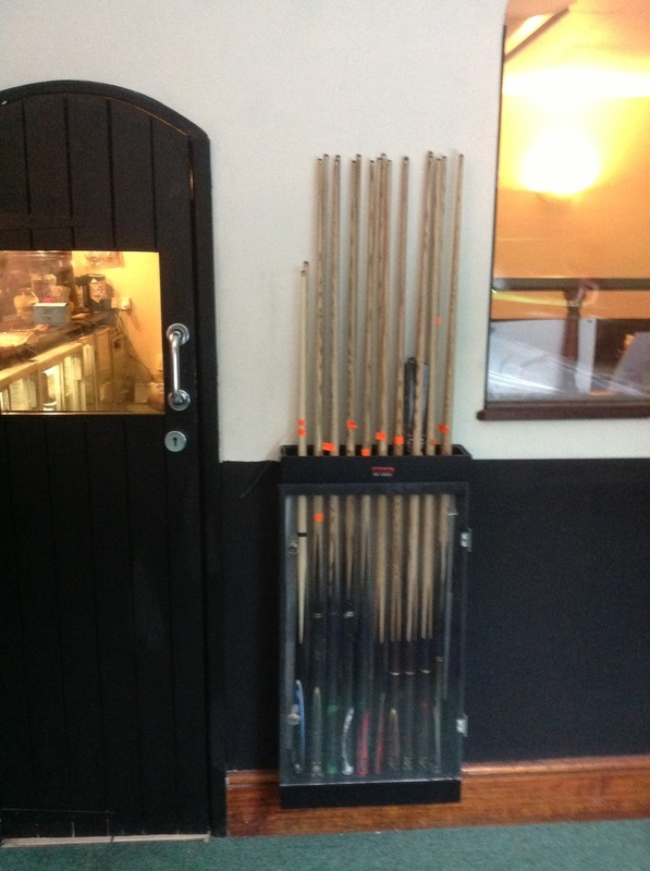 we sell cues.cases and darts equipent